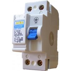 Пристрій захистного відключення ПЗВ-АСКО-2001 2р/ 40А/ 30mA АСКО A0020010005