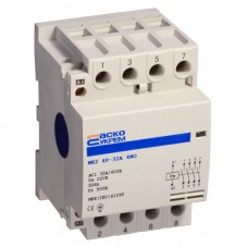 МК1 2р 25А модульний контактор 2NO АСКО A0040030007