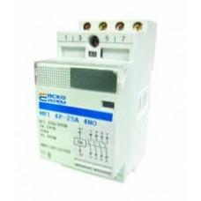 Модульний контактор MK1 4p 20A 4NO АСКО A0040030013