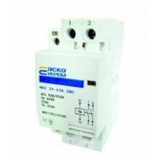 МК2 2р 25А модульний контактор 2NO АСКО A0040030016