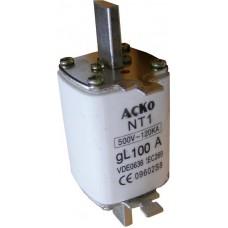 NT1 100A запобіжник АСКО A0050010003