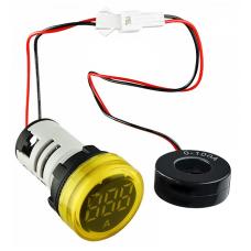 Цифровий амперметр змінного струму ED16-22AD 0-100A (жовтий) круглий АСКО A0190010029