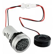 Цифровий амперметр змінного струму ED16-22AD 0-100A (білий) круглий АСКО A0190010030