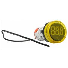 Цифровий вимірювач температури ED16-22WD  -25°С - 150°С (жовтий) круглий АСКО A0190010045