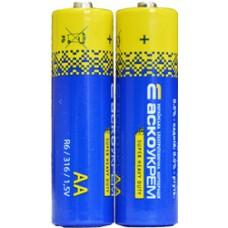 Батарейка сольова AА.R6.S2 (shrink 2) АСКО 4823053503151 Аско.R6.S2