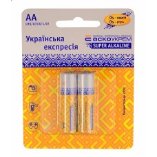 Батарейка лужна AА.LR6.BP2 (blister 2) АСКО Аско.LR6.BP2