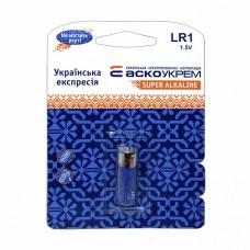 Батарейка LR1.BP1 (blister 1) АСКО Аско.LR1.BP1