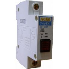 Сигнальна лампа СЛ-2001 червона АСКО A0140030030