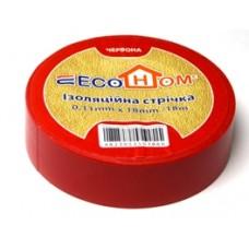 Ізострічка ECO 0,11мм*18мм/18м червона  АСКО ECO0150020022