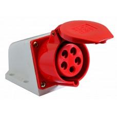 Розетка (гніздо) стаціонарна ECOНОМЕ ГC 16А/5 3Р+N+РЕ (ECO-115) АСКО ECO016010021