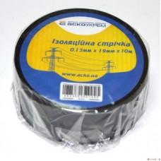 Ізострічка ECO 0,11мм*18мм/18м чорна  АСКО ECO0150020020