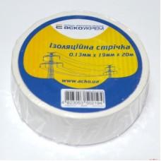 Ізострічка ECO 0,11мм*18мм/18м біла  АСКО ECO0150020021