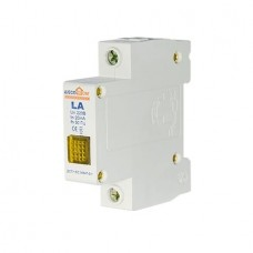 ECO LA Сигнальна арматура жовта 220В на DIN-рейку АСКО ECO090010001