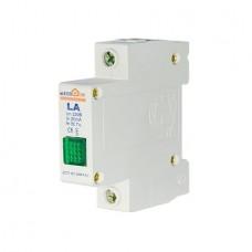 ECO LA Сигнальна арматура зелена 220В на DIN-рейку АСКО ECO090010002