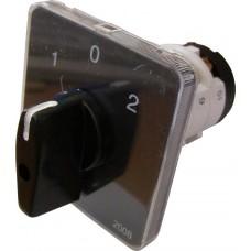 Пакетний Кулачковий Перемикач Е-9 16А/3-833 (1-0-2) 3 полюси АСКО A0110010007