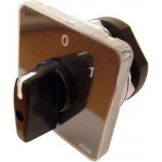 Пакетний Кулачковий Перемикач Е-9 25А/1-822 (1-0) 2 полюси АСКО A0110010009