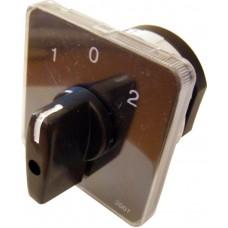 Пакетний Кулачковий Перемикач Е-9 25А/1-831 (1-0-2) 1 полюс АСКО A0110010010