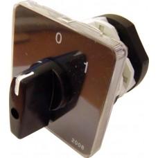 Пакетний Кулачковий Перемикач Е-9 25А/2-823 (1-0) 3 полюси АСКО A0110010011