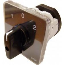 Пакетний Кулачковий Перемикач Е-9 25А/2-832 (1-0-2) 2 полюси АСКО A0110010012