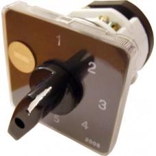 Пакетний Кулачковий Перемикач Е-9 25А/2-863 (0-1-0-2-0-3) вибір фази АСКО A0110010015