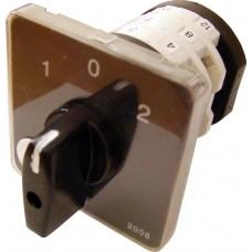 Пакетний Кулачковий Перемикач Е-9 25А/3-833 (1-0-2) 3 полюси АСКО A0110010016