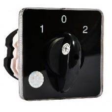 Перемикач пакетний типу ПКП Е9 100А/2.832 (1-0-2 2 полюса) АСКО A0110010030