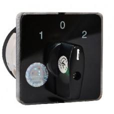 Пакетний Кулачковий Перемикач Е-9 40А/2-832 (1-0-2) 2 полюси АСКО A0110010020