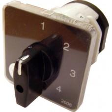 Пакетний Кулачковий Перемикач Е-9 40А/2-843 (0-1-2-3) вибір фази АСКО A0110010022