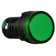 AD22-22D/S  Cигнальна арматура зелена 220V AC АСКО A0140030045