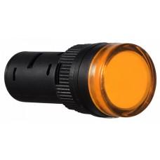 AD16-16D/S  Cигнальна арматура жовта 220V AC АСКО A0140030052