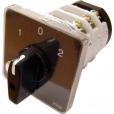 Пакетний Кулачковий Перемикач Е-9 40А/3-833 (1-0-2) 3 полюси АСКО A0110010024