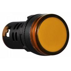 AD22-22D/S  Cигнальна арматура жовта 24V AC/DC АСКО A0140030049