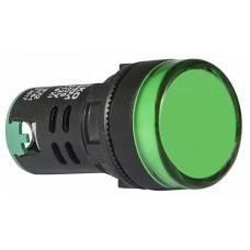 AD22-22DS Сигнальна арматура зелена 12V АC/DC АСКО A0140030162