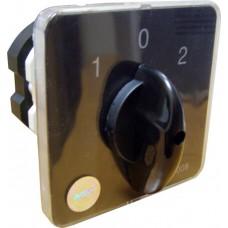 Перемикач пакетний типу ПКП Е9 63А/2.832 (1-0-2 2 полюса) АСКО A0110010029