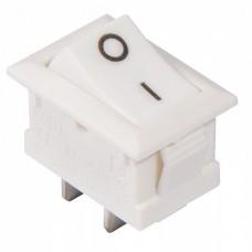 KCD1-101 White/White  Перемикач 1 клав. білий АСКО A0140040052