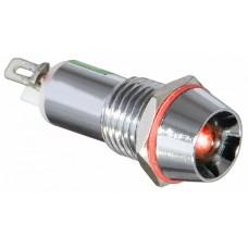 AD22C-8 Cигнальна арматура червона 24V AC/DC АСКО A0140030104