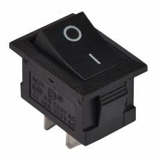 KCD1-101 B/B Перемикач 1 клав. чорний  АСКО A0140040050