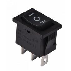 KCD1-2-103 B/B Перемикач 1 клав. перекидний (чорний) АСКО A0140040056