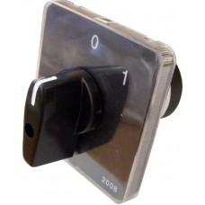 Пакетний Кулачковий Перемикач Е-9 16А/2-823 (1-0) 3 полюси АСКО A0110010003