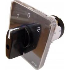 Пакетний Кулачковий Перемикач Е-9 16А/2-832 (1-0-2) 2 полюси АСКО A0110010004