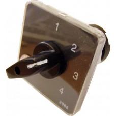 Пакетний Кулачковий Перемикач Е-9 16А/2-843 (0-1-2-3) вибір фази АСКО A0110010006