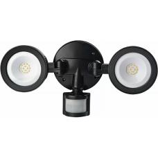 Світлодіодний світильник з інфрачервоним датчиком руху СДР-64 (3800-4250K) чорний АСКО A0220010044
