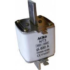 NT3 500A запобіжник АСКО A0050010005