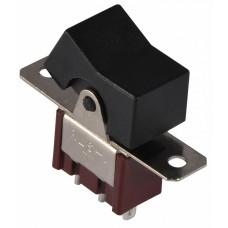 Тумблер клавішний  RLS-102 ON-ON 2Пол. *3Конт. АСКО A0140060020