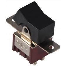 Тумблер клавішний  RLS-202 ON-ON 2Пол. *6Конт. АСКО A0140060022