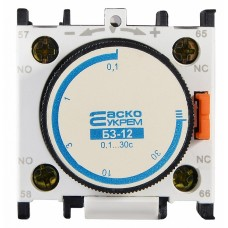 Блок затримки БЗ-12 (0,1-30,0с Викл) АСКО A0040050002