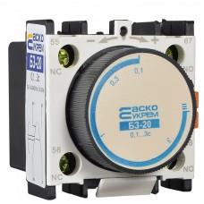 Блок затримки БЗ-20 (0,1-3,0с Вкл) АСКО A0040050004