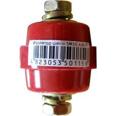 SM30 Ізолятор - тримач шини h=30мм М8 АСКО A0150100002