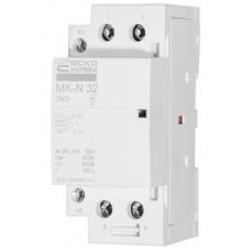 Модульний контактор MK-N 2P 32A 2NO АСКО A0040030031