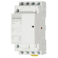 Модульний контактор MK-N 4P 16A 4NO АСКО A0040030026